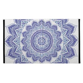 Púrpura ornamental india elegante del diseño del v