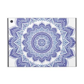 Púrpura ornamental india elegante del diseño del v iPad mini carcasa