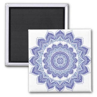 Púrpura ornamental india elegante del diseño del v imán de frigorífico
