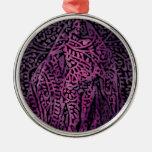Púrpura Ornamento De Navidad