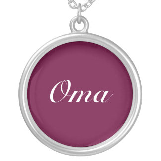 Púrpura oscura de Oma Joyerias Personalizadas