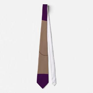Púrpura oscura del pan corbatas
