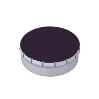 púrpura oscura punteada