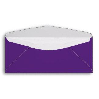 Púrpura oscura sobre