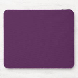 Púrpura oscura tapete de ratones