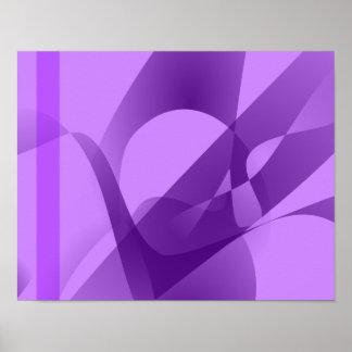 Púrpura pálida poster