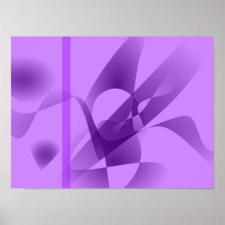 Púrpura pálida posters