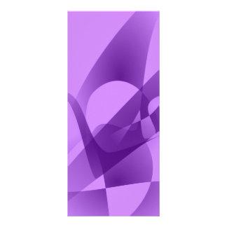 Púrpura pálida tarjetas publicitarias a todo color