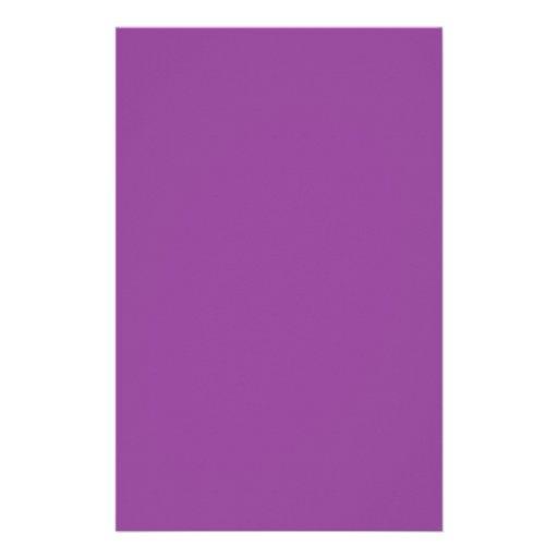 Púrpura Papelería Personalizada