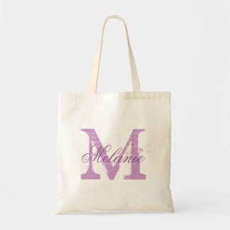 Púrpura personalizada de la lavanda de la bolsa de
