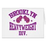 Púrpura pesada de la división de Brooklyn Tarjetas