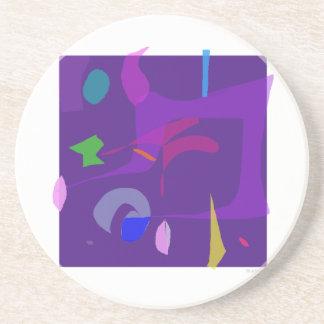 Púrpura Posavasos De Arenisca