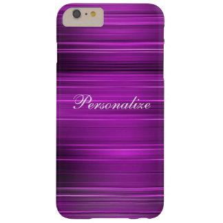 Púrpura psicodélica personalizada funda de iPhone 6 plus barely there