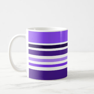 Púrpura rayada taza