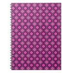 Púrpura real cuaderno