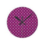 Púrpura real reloj