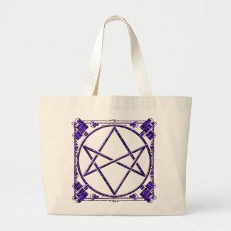 Púrpura real Unicursal Bolsas