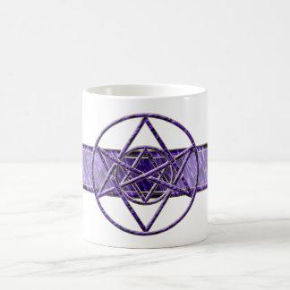 Púrpura real Unicursal Taza Clásica