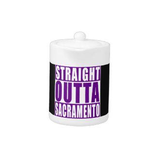 Púrpura recta de Outta Sacramento