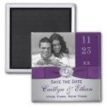 Púrpura, reserva floral de los gris plateados el i