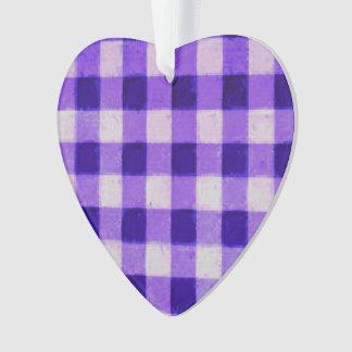 Púrpura retra de la lavanda de la guinga del país