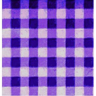 Púrpura retra de la lavanda de la guinga del país esculturas fotograficas