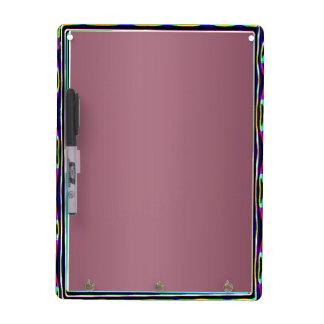 Púrpura rica en n de Mettelic de la frontera azul  Tablero Blanco