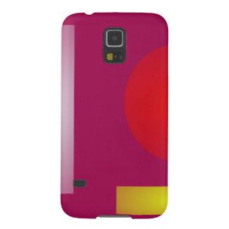 Púrpura roja del Minimalism