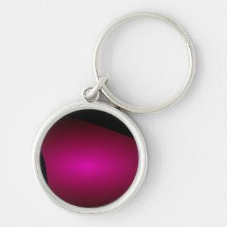 Púrpura roja espiral de Shell Llavero Personalizado