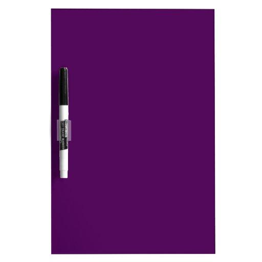 Púrpura seque al tablero del borrado pizarras blancas de calidad