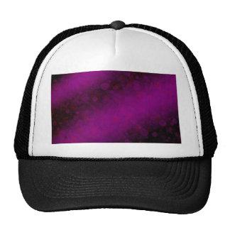Púrpura siniestra gorros bordados