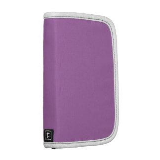 Púrpura sólida planificador