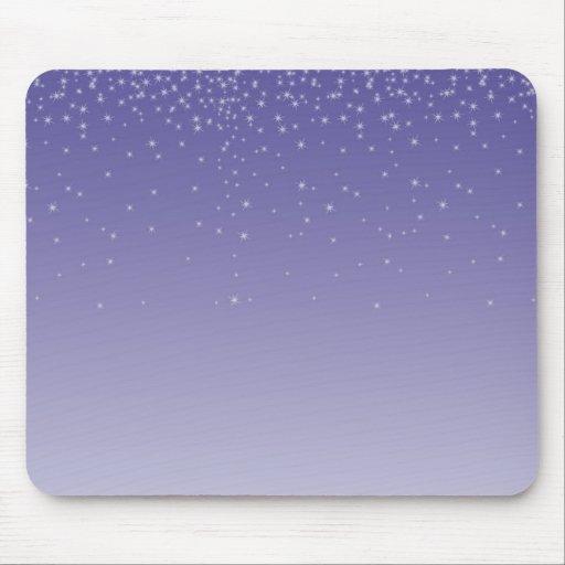 Púrpura soñadora alfombrillas de raton