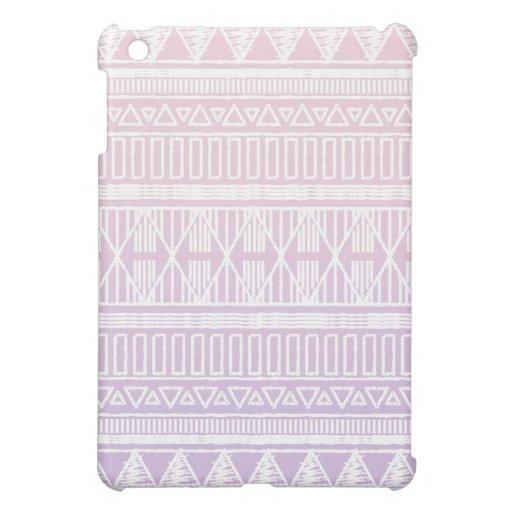 Púrpura tribal del rosa en colores pastel