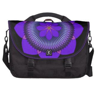 Púrpura tripartita Lotus de 80 pétalos Bolsas Para Portatil