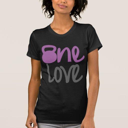 """Púrpura """"un amor """" camiseta"""