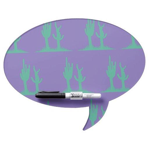 Púrpura verde del cactus pizarra