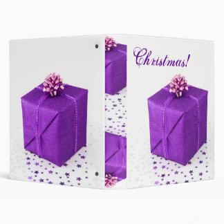 "Púrpura VI de los regalos de Navidad Carpeta 1"""