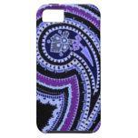 Púrpura violeta del vintage de la lavanda colorida iPhone 5 Case-Mate cárcasa