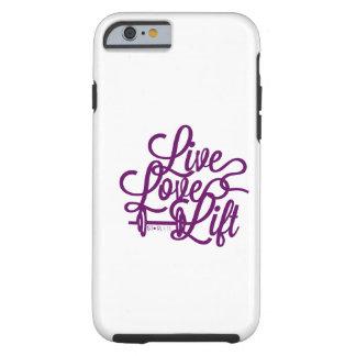 Púrpura viva de la elevación del amor
