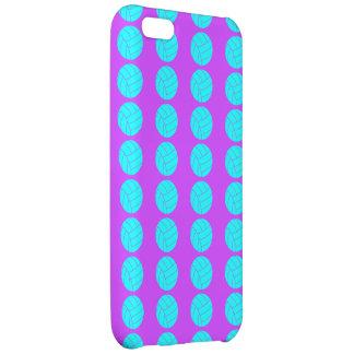 Púrpura y caso del iPhone 5C del voleibol de la ag