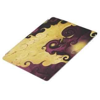 Púrpura y cubierta elegante del iPad del extracto Cover De iPad