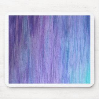 Púrpura y fusión de la turquesa alfombrilla de ratón