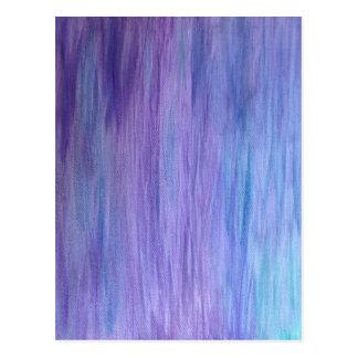 Púrpura y fusión de la turquesa postal