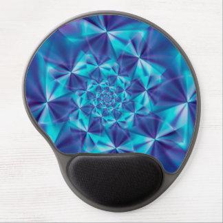 Púrpura y gel espiral Mousepad del fractal de la Alfombrilla De Raton Con Gel