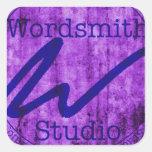 Púrpura y logotipo de la marina de guerra WSS