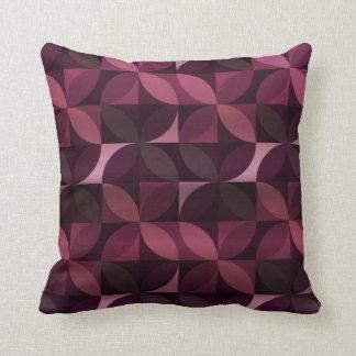 Púrpura y modelo moderno del ciruelo cojín