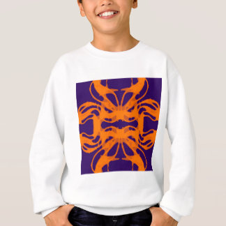Púrpura y naranja de Etnic Sudadera