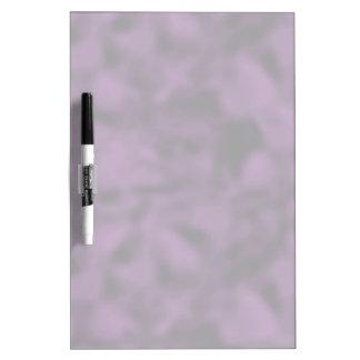 Púrpura y negro abigarrados pizarra blanca