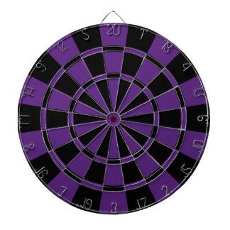 Púrpura y negro oscuros